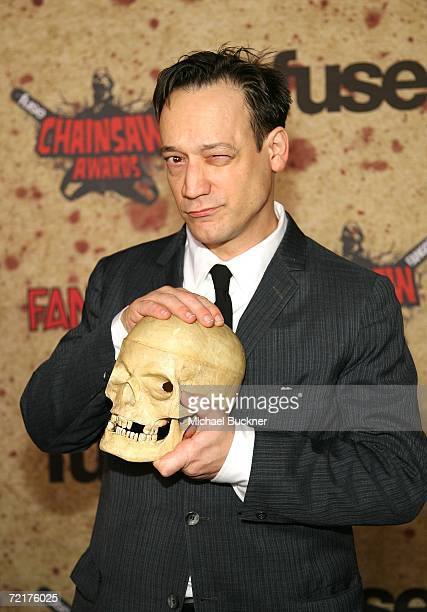 Actor Ted Raimi attends the fuse Fangoria Chainsaw Awards at the Orpheum Theater on October 15 2006 in Los Angeles California The awards will...
