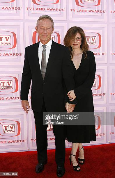 Actor Ted Shackelford and Annette Wolfe arrive at the 2009 TV Land Awards at the Gibson Amphitheatre on April 19 2009 in Universal City California
