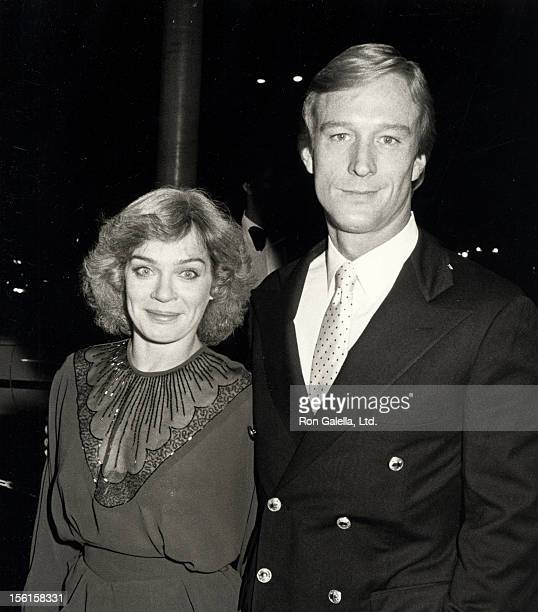 Actor Ted Shackelford and wife Janis Leverenz attending 'Variety Magazine Party' on October 25 1983 at the Hollywood Bowl in Hollywood California