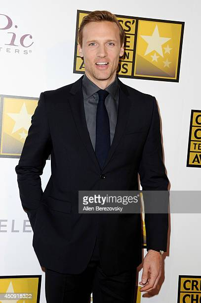 Actor Teddy Sears arrives at the 4th Annual Critics' Choice Television Awards at The Beverly Hilton Hotel on June 19 2014 in Beverly Hills California
