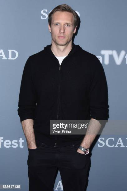 """Actor Teddy Sears attend a press junket for """"24 Legacy"""" during Day One of the aTVfest 2017 presented by SCAD on February 2 2017 in Atlanta Georgia"""