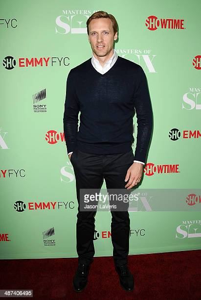 Actor Teddy Sears attends Showtime's 'Masters Of Sex' special screening and panel discussion at Leonard H Goldenson Theatre on April 29 2014 in North...