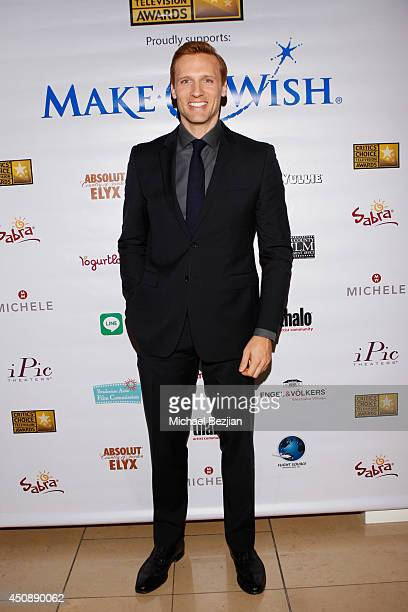 Actor Teddy Sears attends the 4th Annual Critics' Choice Television Awards at The Beverly Hilton Hotel on June 19 2014 in Beverly Hills California