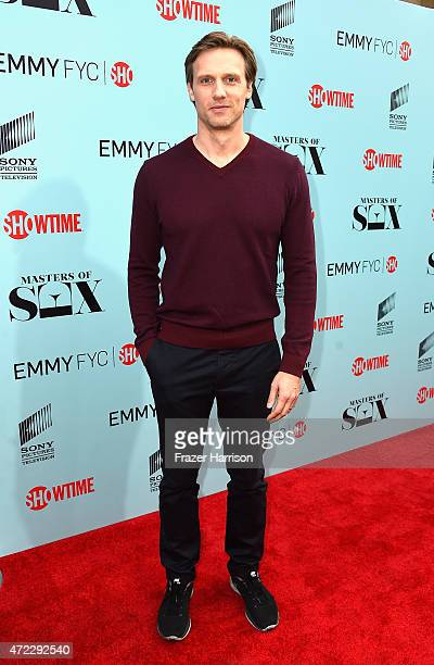 Actor Teddy Sears attends the Screening of Showtime and Sony Pictures Television's 'Masters Of Sex' at Cary Grant Theater on May 5 2015 in Culver...