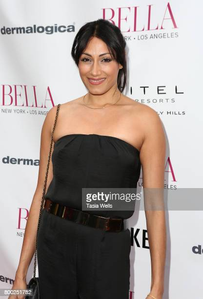 Actor Tehmina Sunny attends the BELLA Los Angeles Summer Issue Cover Launch Party at Sofitel Los Angeles At Beverly Hills on June 23 2017 in Los...