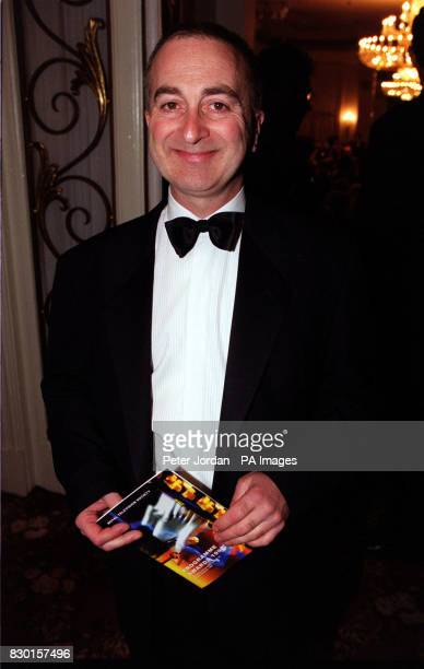 Actor / television presenter Tony Robinson who hosts Channel 4's 'Time Team' at the Royal Television Society Programme Awards at London's Grosvenor...