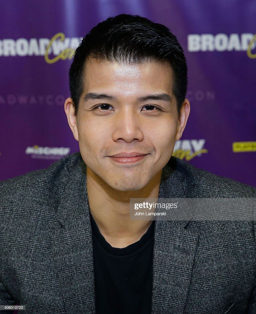 Actor Telly Leung attends BroadwayCon 2016 at the Hilton Midtown on January 22, 2016 in New York City.