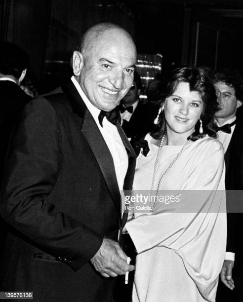 Actor Telly Savalas and wife Julie Hovland attend 12th Annual American Film Institute Lifetime Achievement Awards Honorig Lillian Gish on March 1...