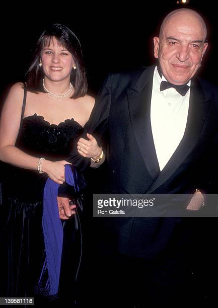 Actor Telly Savalas and wife Julie Savalas attend the Academy of Television Arts and Sciences Presents the Sixth Annual Television Academy of Hall of...