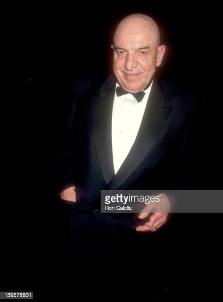 Actor Telly Savalas attends the Academy of Television Arts and Sciences Presents the Sixth Annual Television Academy of Hall of Fame Induction...