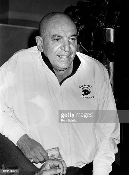 Actor Telly Savalas sighted on March 27 1989 at the Sheraton Universal Hotel in Universal City California