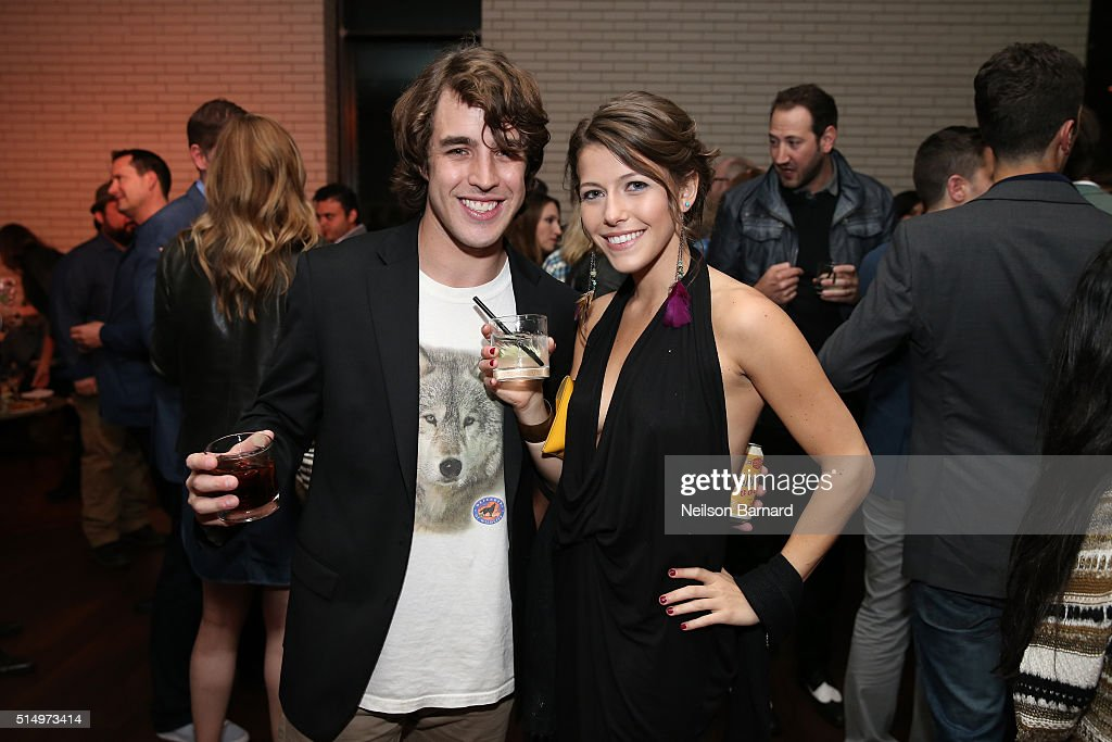 Actor Temple Baker (L) attends the 'Everybody Wants Some' after party during the 2016 SXSW Music, Film + Interactive Festival on March 11, 2016 in Austin, Texas.