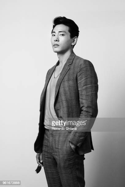 Actor Teo Yoo is photographed on May 11 2018 in Cannes France