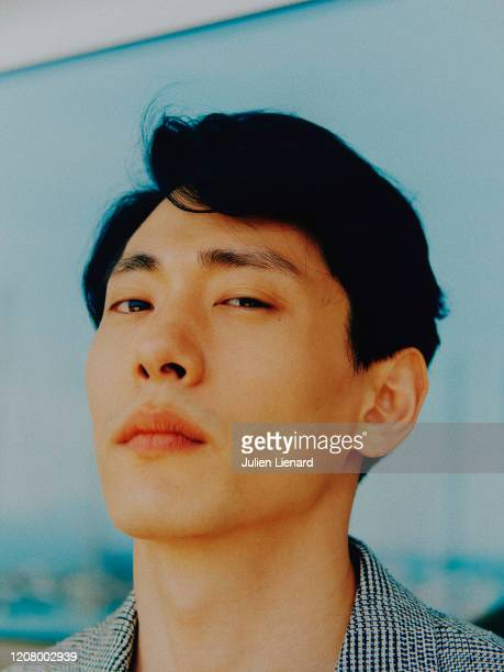 Actor Teo Yoo poses for a portrait on May 2018 in Cannes France