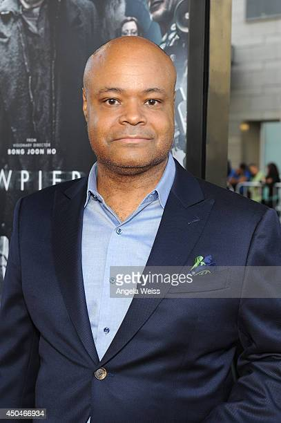 Actor Terence Bernie Hines attends the opening night premiere of Snowpiercer during the 2014 Los Angeles Film Festival at Regal Cinemas LA Live on...
