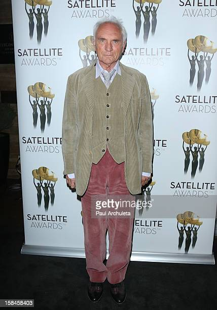 Actor Terence Stamp attends the International Press Academy's 17th Annual Satellite Awards at InterContinental Hotel on December 16 2012 in Century...