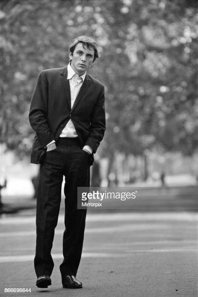 Actor Terence Stamp pictured in a park in London 13th September 1962