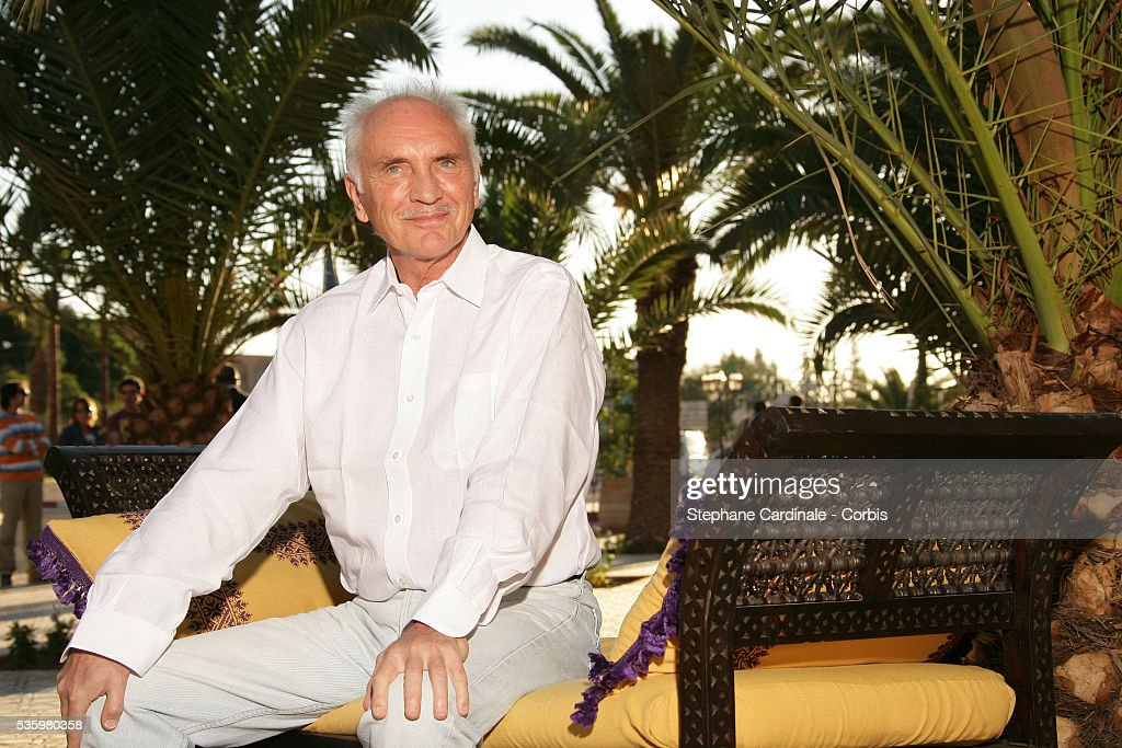 Actor Terence Stamp poses fo ra photocall at the 2005 Marrakech film festival.