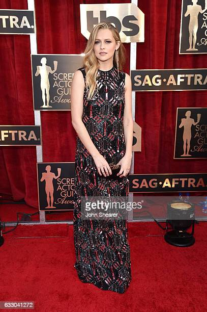 Actor Teresa Palmer attends The 23rd Annual Screen Actors Guild Awards at The Shrine Auditorium on January 29 2017 in Los Angeles California