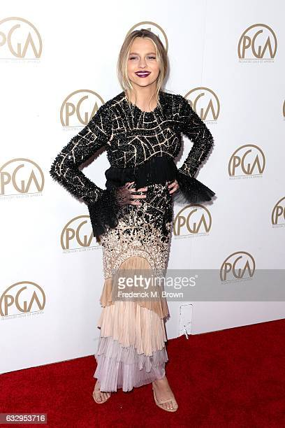 Actor Teresa Palmer attends the 28th Annual Producers Guild Awards at The Beverly Hilton Hotel on January 28 2017 in Beverly Hills California