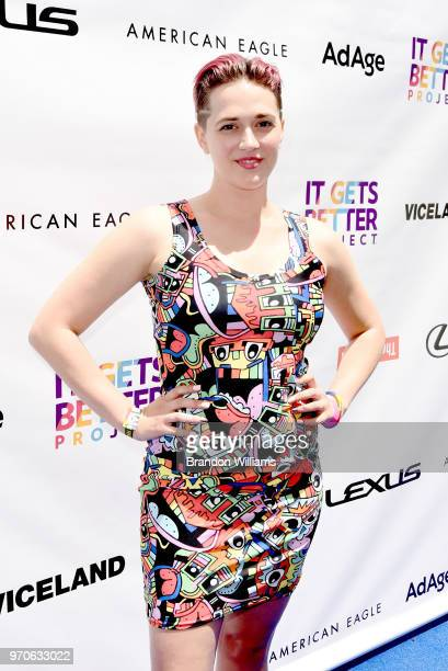 Actor Terissa Kelton attends the 3rd Annual 'It Gets Better A Poolside Pride Celebration' event at The Standard Hollywood on June 9 2018 in West...