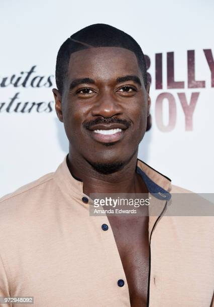 Actor Terrell Carter arrives at the Los Angeles premiere of 'Billy Boy' at the Laemmle Music Hall on June 12 2018 in Beverly Hills California