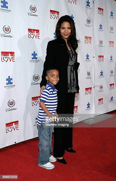 Actor Terrell Ransom Jr and actress Renee Jones attend the Autism Speaks Hosts the 6th Annual Acts of Love Celebration held at the Geffen Playhouse...