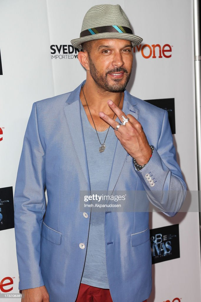 Actor Terrell Tilford attends the series premiere of TV One's 'R&B Divas LA' at The London Hotel on July 9, 2013 in West Hollywood, California.