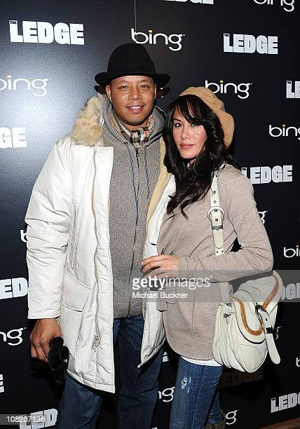 Actor Terrence Howard and wife Michelle Ghent attend The Ledge Cocktail Party At Bing Bar on January 21 2011 in Park City Utah