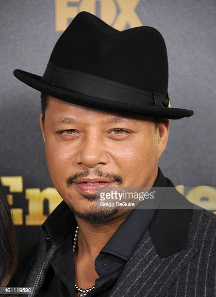 Actor Terrence Howard arrives at the red carpet premiere of 'Empire' at ArcLight Cinemas Cinerama Dome on January 6 2015 in Hollywood California