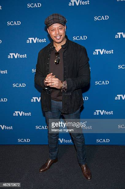 """Actor Terrence Howard attends aTVfest 2015-Day 3 Press Junket of FOX's """"Empire"""" presented by SCAD on February 7, 2015 in Atlanta, Georgia."""