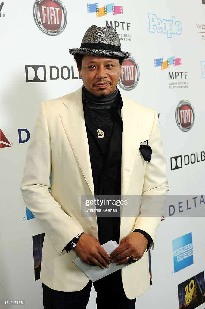 Actor Terrence Howard attends 'Hugh Jackman... One Night Only' Benefiting MPTF at Dolby Theatre on October 12, 2013 in Hollywood, California.