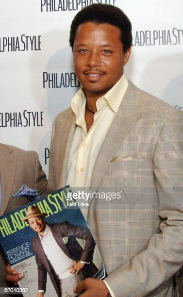 Actor Terrence Howard attends Philadelphia Style Magazine Summer Issue Launch Party on July 22 2008 in Philadelphia Pennsylvania