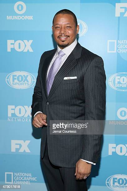 Actor Terrence Howard attends the 2015 FOX programming presentation at Wollman Rink in Central Park on May 11 2015 in New York City