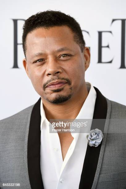 Actor Terrence Howard attends the 2017 Film Independent Spirit Awards at the Santa Monica Pier on February 25 2017 in Santa Monica California