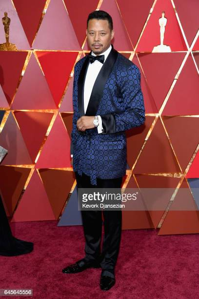 Actor Terrence Howard attends the 89th Annual Academy Awards at Hollywood Highland Center on February 26 2017 in Hollywood California