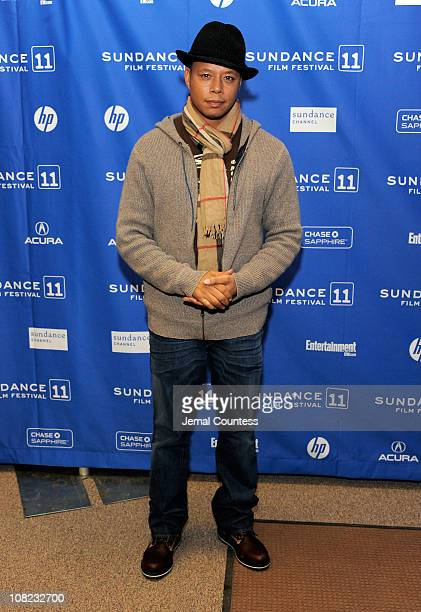 Actor Terrence Howard attends The Ledge Premiere at the Eccles Center Theatre during the 2011 Sundance Film Festival on January 21 2011 in Park City...