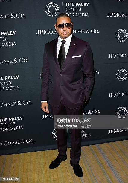 Actor Terrence Howard attends the Paley Center For Media's Tribute To AfricanAmerican Achievements In Television at the Beverly Wilshire Four Seasons...