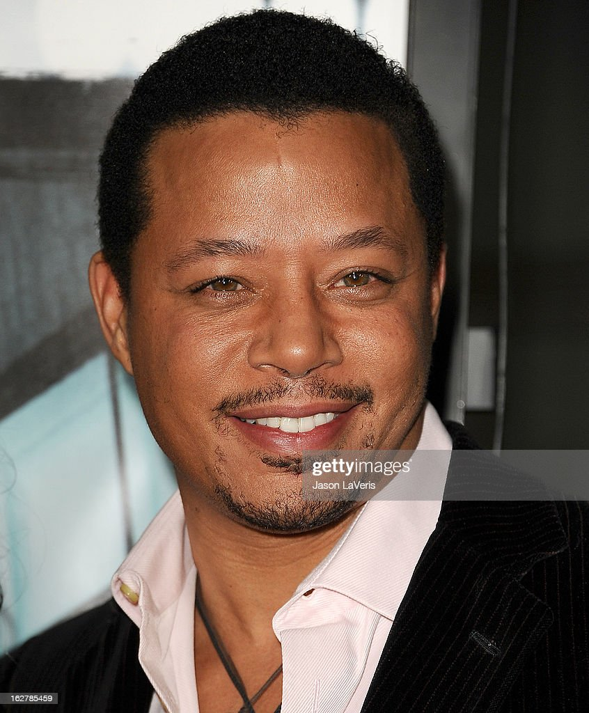 Actor Terrence Howard attends the premiere of 'Dead Man Down' at ArcLight Cinemas on February 26, 2013 in Hollywood, California.