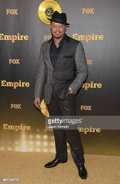"""Actor Terrence Howard attends the premiere of Fox's """"Empire at ArcLight Cinemas Cinerama Dome on January 6, 2015 in Hollywood, California."""