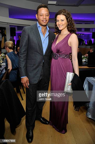 Actor Terrence Howard attends Vertu and Gelila and Wolfgang Puck Celebrate the Oscars and Dream for Africa Foundation at CUT on February 23, 2012 in...