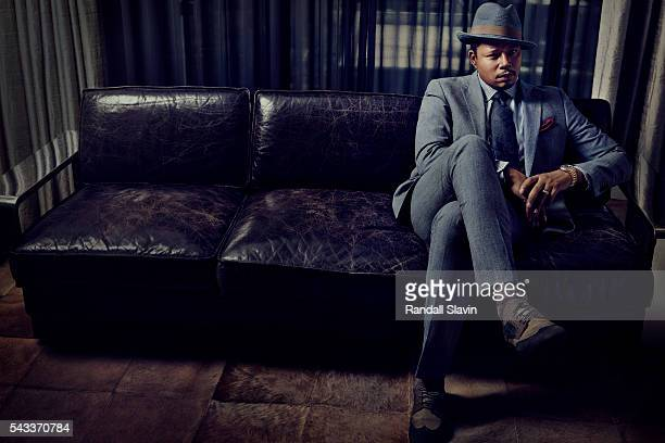 Actor Terrence Howard is photographed for New York Moves on June 10 2014 in Los Angeles California