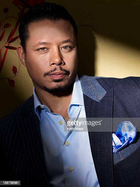 Actor Terrence Howard is photographed for Rolling Out Magazine on January 17 2012 in New York City