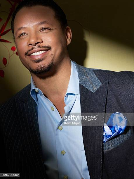 Actor Terrence Howard is photographed for Rolling Out Magazine on January 17 2012 in New York City PUBLISHED IMAGE