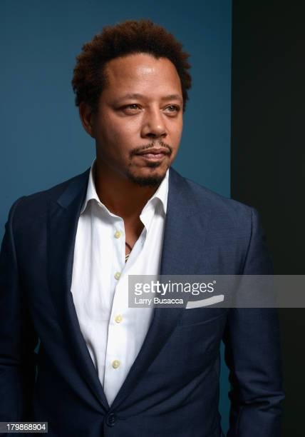 Actor Terrence Howard of 'Prisoners' poses at the Guess Portrait Studio during 2013 Toronto International Film Festival on September 7 2013 in...