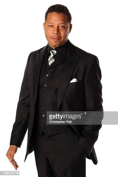 Actor Terrence Howard poses for a portrait at the 43rd NAACP Image Awards held at The Shrine Auditorium on February 17 2012 in Los Angeles California