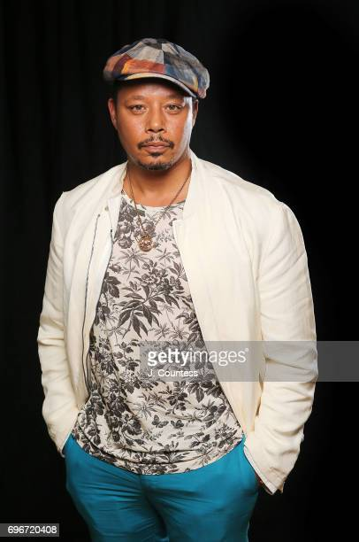 Actor Terrence Howard poses for a portrait on Day 2 of the 2017 American Black Film Festival at the New World Center on June 16 2017 in Miami Florida