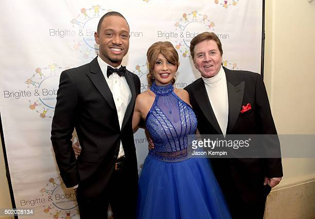 Actor Terrence J Brigitte Sherman and singer Bobby Sherman attend the Brigitte and Bobby Sherman Children's Foundation's 6th Annual Christmas Gala...