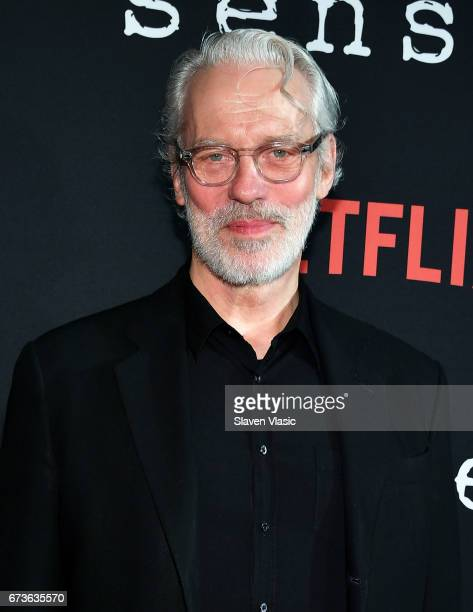 Actor Terrence Mann attends Sense8 New York Premiere at AMC Lincoln Square Theater on April 26 2017 in New York City