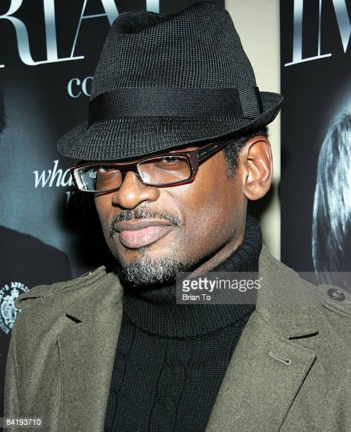 Actor Terrence 'TC' Carson arrives at TBS' 10 Items or Less Season 3 Premiere Party at Aqua Restaurant Lounge on January 6 2009 in Beverly Hills...